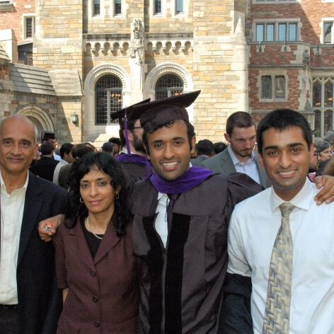 Vivek Ramaswamy Graduation