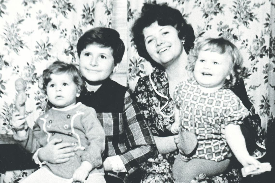 Irina Linetskaya Family Photo
