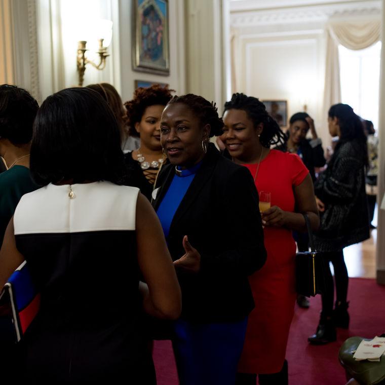 2016 haitian ladies brunch crowd picture