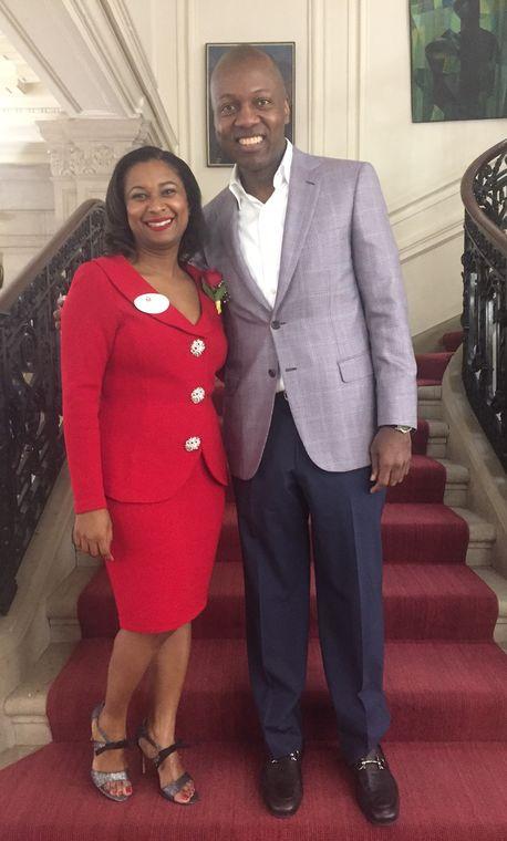 2016 haitian ladies brunch nadine and ambassador paul altidor